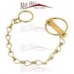Tractor Plant Etc Lynch pin + Chain assembly