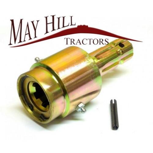 Tractor Pto Shaft Coupler : Tractor pto over run overun coupler quot spline