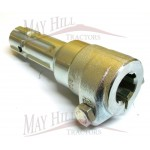 "PTO Adaptor - Bolt type 1.3/8"" Female - 1.3/8 Male 6 Spline."