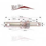 Lower Link Implement Pin (Cat. 1/2)