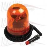 12V Magnetic Beacon Light 185mm High x 130mm Diameter