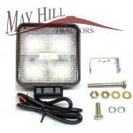 LED Square Worklight 12/24V Tractor Plant Etc 110mm x 110mm