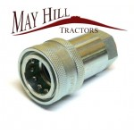"""Hydraulic Quick Release Coupling 3/8""""BSP Female"""