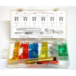 Blade Fuse & Tools Kit Display Box  (93 pieces)