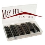 Metric Roll Pin Assortment 3mm Ø - 10mm Ø various 160 pcs Agripak
