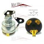 Massey Ferguson 35, 35x, 65, 135, 148, 165, 168, 175, 178, 185, 188, 50 Ignition Switch