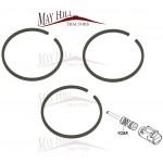 "Hydraulic Piston Ring Pack 3"" (3 Rings) - Massey Ferguson 35 35x 65"