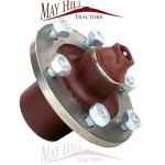 Massey Ferguson TE20, TEA, TED, TEF, (FE35 & 35 >368615) Front Hub with Studs & Nuts and Centre Cap