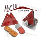 AgriPack of Trailer Reflectors