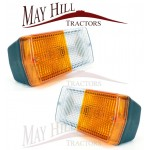 Tractor Universal Flat Front Light (PAIR)