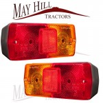 Tractor Universal Flat Rear Light (PAIR)