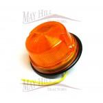 Kubota, Iseki, Yanmar, Hinomoto Compact Tractor 12V Light Orange Lens