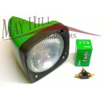 RH Head light, Lamp to Fit John Deere 30, 40, 50 Series Tractor