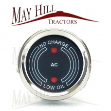 David Brown Implematic Charge and Oil Gauge includes Bulbs (as picture)