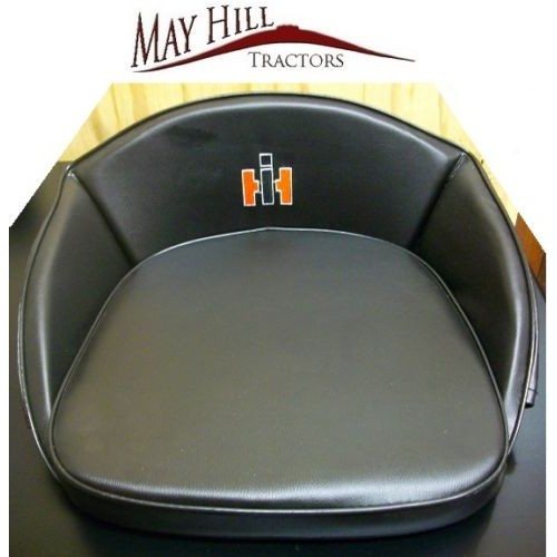 International 444 Tractor Seat : International tractor seat cushion black old style