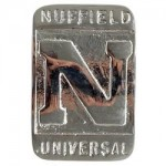 Nuffield N Universal Front Emblem
