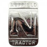 Nuffield N Tractor Front Emblem