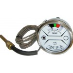 Nuffield 10/60 Tractor Oil & Temperature Gauge - White Face