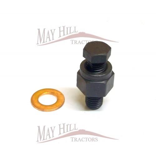 Massey Ferguson 65 Injection Pump : Massey ferguson tractor cav injector pump small bleed screw