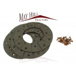 Case, International, Fordson, Leyland, Nuffield Brake Lining Kit - 165mm OD