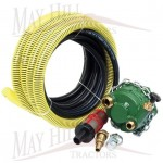 "PTO Driven Pump Kit with inlet and delivery hose fits 1 3/8"" x 6 PTO"