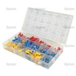 Pre-insulated terminals assortment (Qty 260 pieces) ,