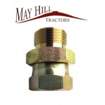 "Hydraulic Adaptor 1/2"" BSP male - 3/8"" BSP female"