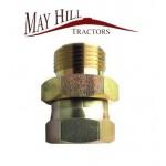 """Hydraulic Adaptor 1/2"""" BSP male - 3/8"""" BSP female"""