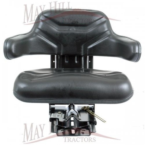 Tractor Seat Suspension Parts : Tractor seat assembly mechanical adjustable suspension