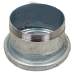"Female Coupling with Threaded end 6"" (Galvanised) - Bauer"