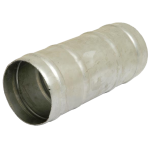 "Double Hose End for 6"" PVC Slurry Hose (Galvanised)"