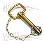 """Drawbar Hitch Pin 22mm(7/8"""") x 123mm long"""